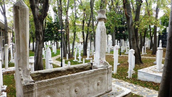 Sufi Cemetery, Mevlevi Lodge © Andrew Gough