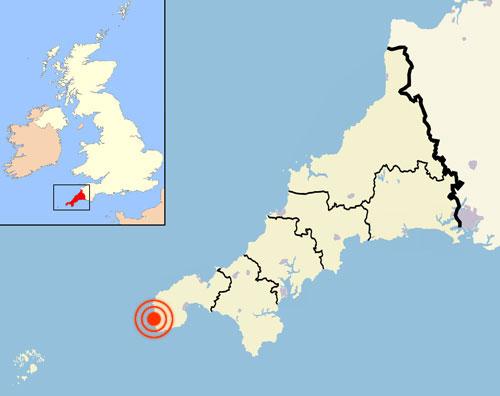 Lands End England Map.Land S End Or Beginning Andrew Gough