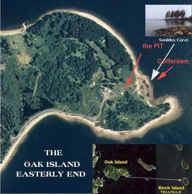 OAK ISLAND TREASURE TALES   Andrew Gough